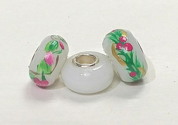 Opal w/ flowers, Opal plain, Opal w/ pine/berries