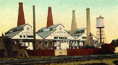 Heisey Glass Factory Newark Ohio