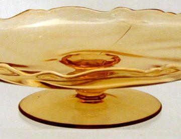 Heisey Amber Glass